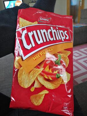 Lorenz Crunchips Hot Paprika - Voedigswaarden