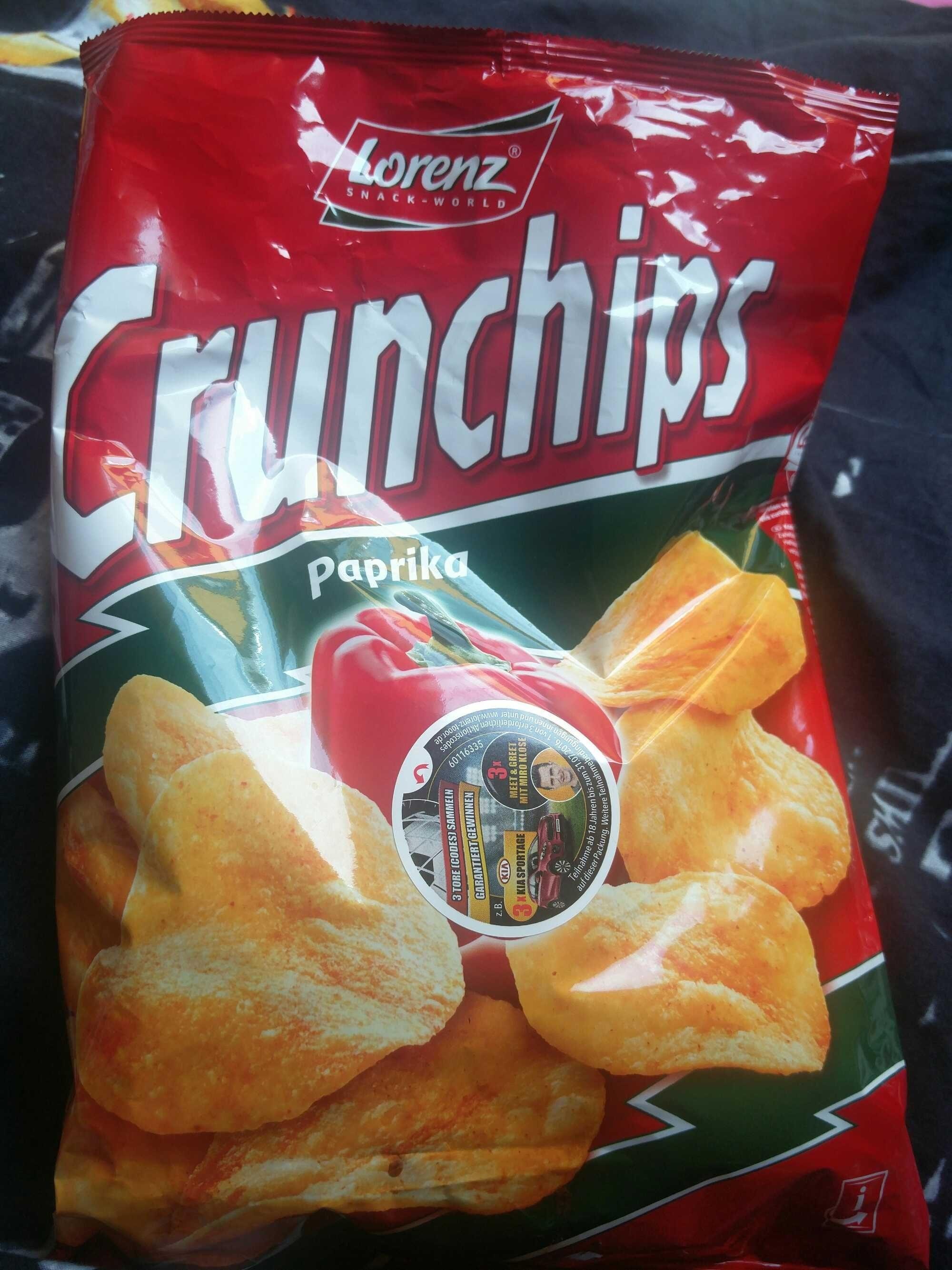 Crunchips Paprika - Produit - fr