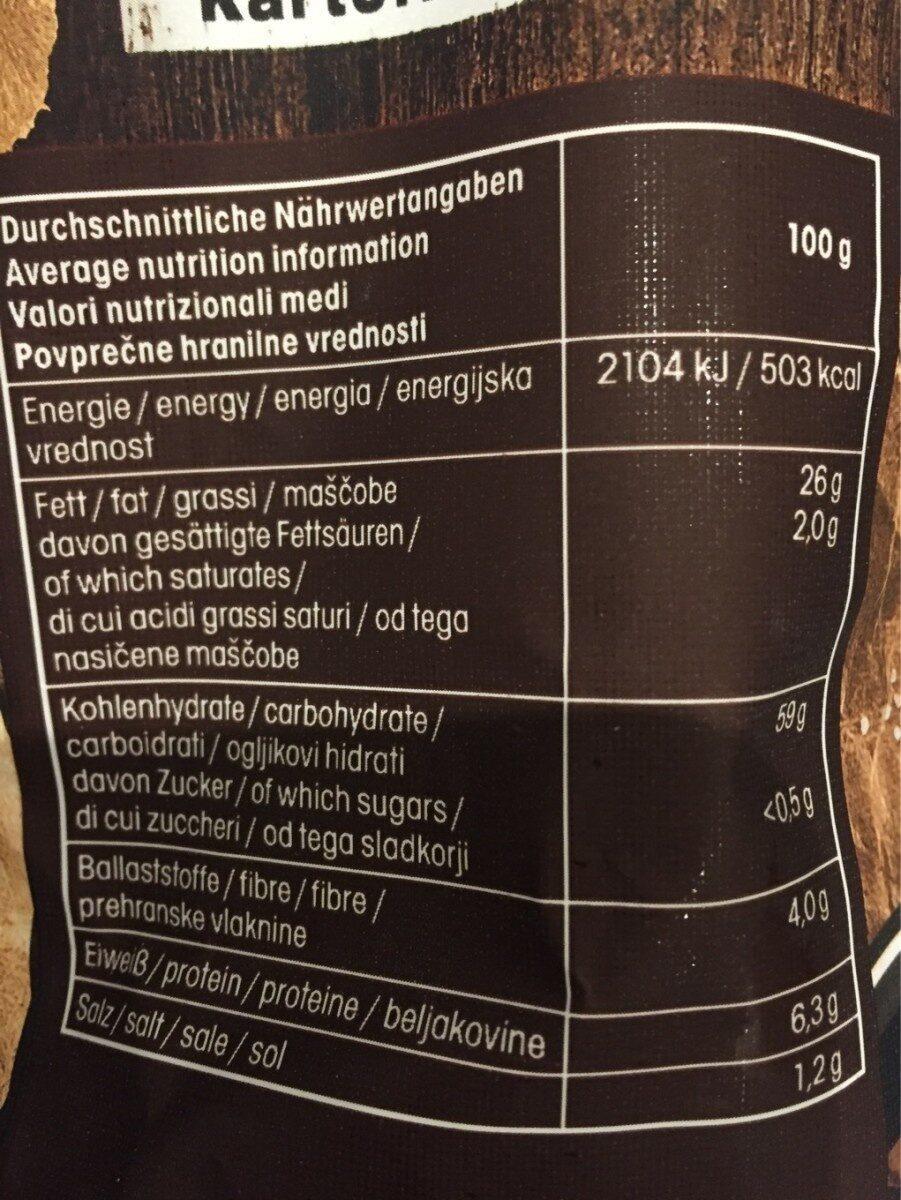 Roh Scheiben - Informations nutritionnelles - de
