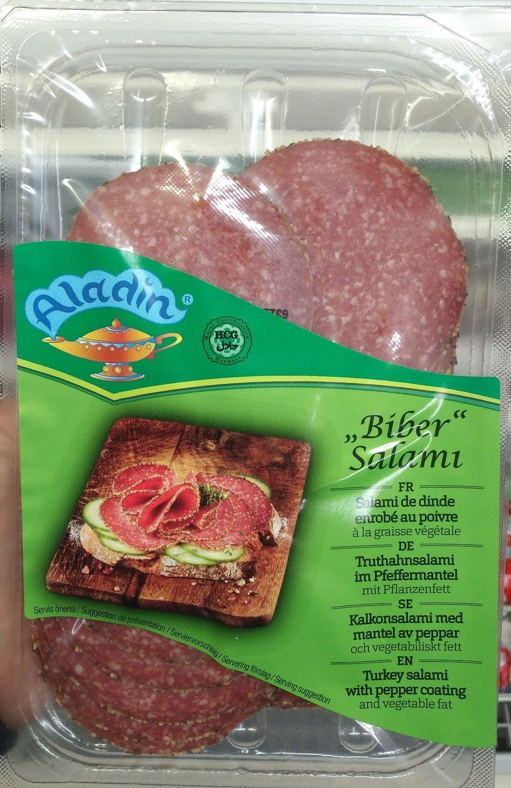 Salami de dinde enrobé au poivre à la graisse végétale - Product - fr