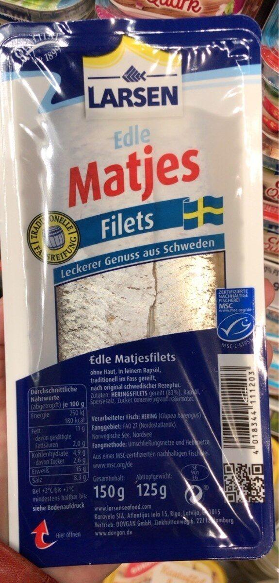 Edle matjes filets - Produkt - de