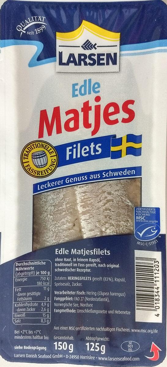 Edle Matjes Filets - Product - de