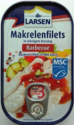 Makrelenfilets Barbecue - Produit