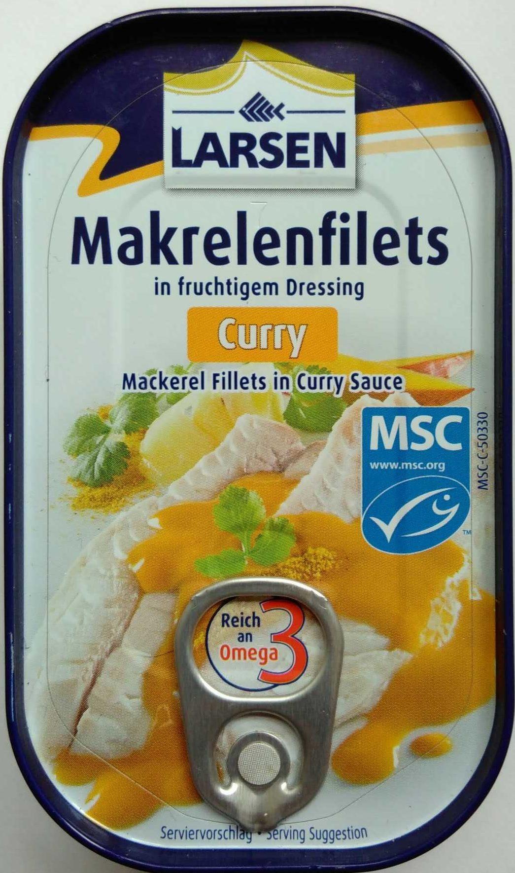 Makrelenfilets Curry - Product
