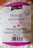 Dessert meringue - Product
