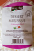 Dessert Meringue - Produkt