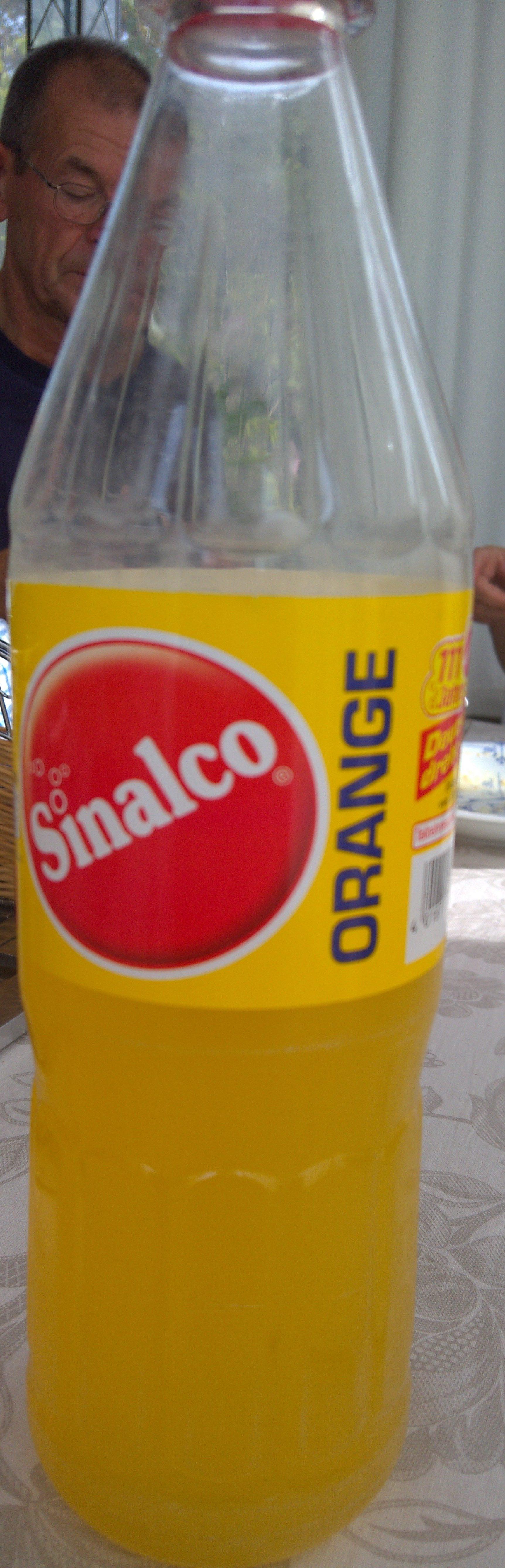 Sinalco Orange - Product - fr