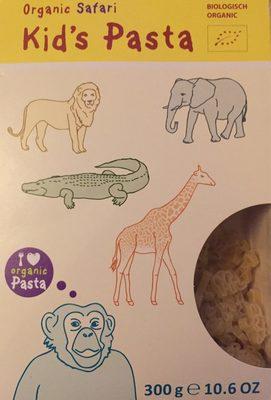 Organic Safari Kid's Pasta - Informations nutritionnelles