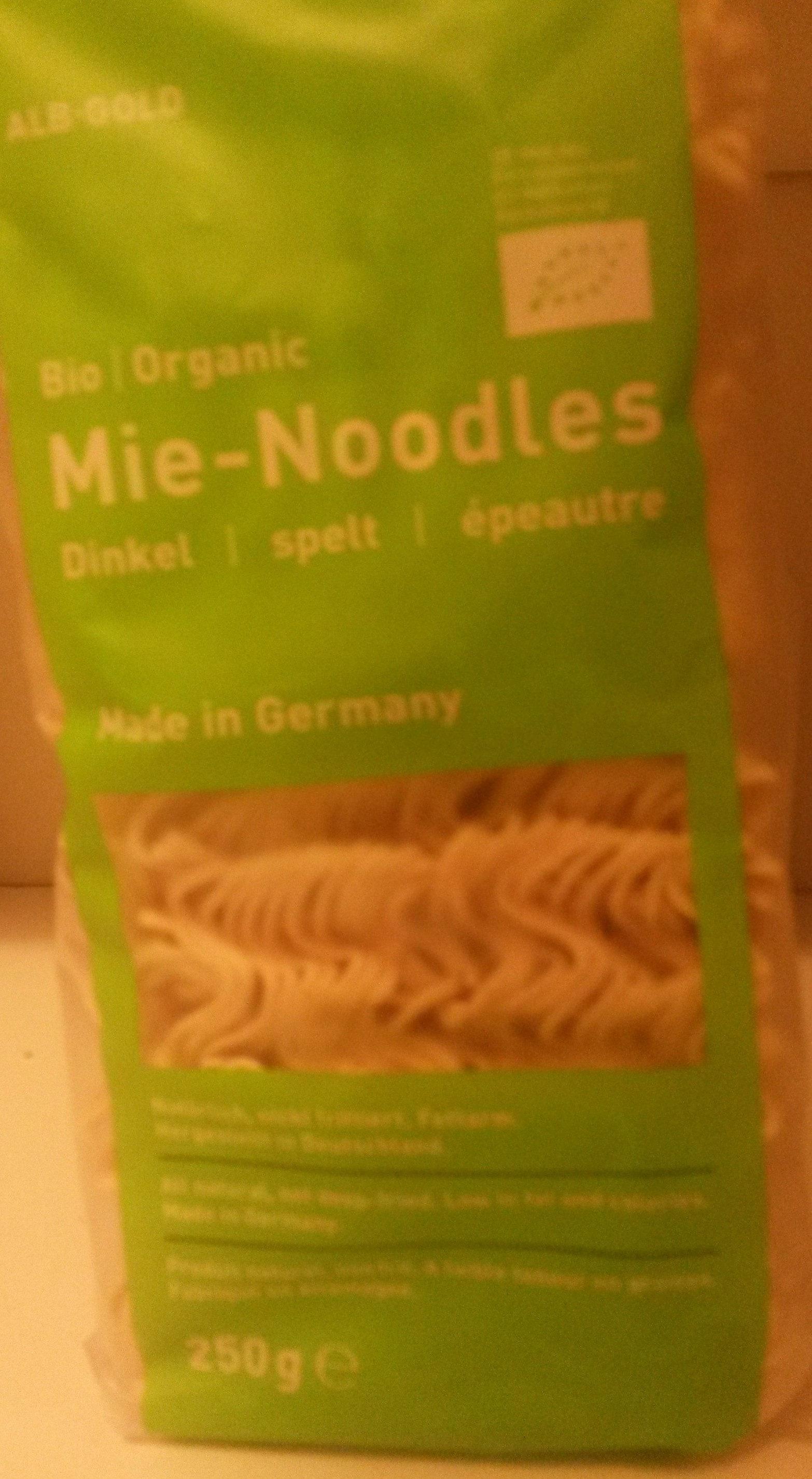 Alb-natur Teigwaren Dinkel Mie-noodle, 250 GR Packung - Produit - fr