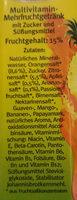 QuickDrink Multivitamin - Inhaltsstoffe