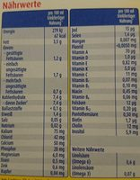 Anfangsmilch Pre - Nutrition facts