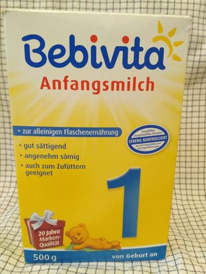 Anfangsmilch - Produit - de