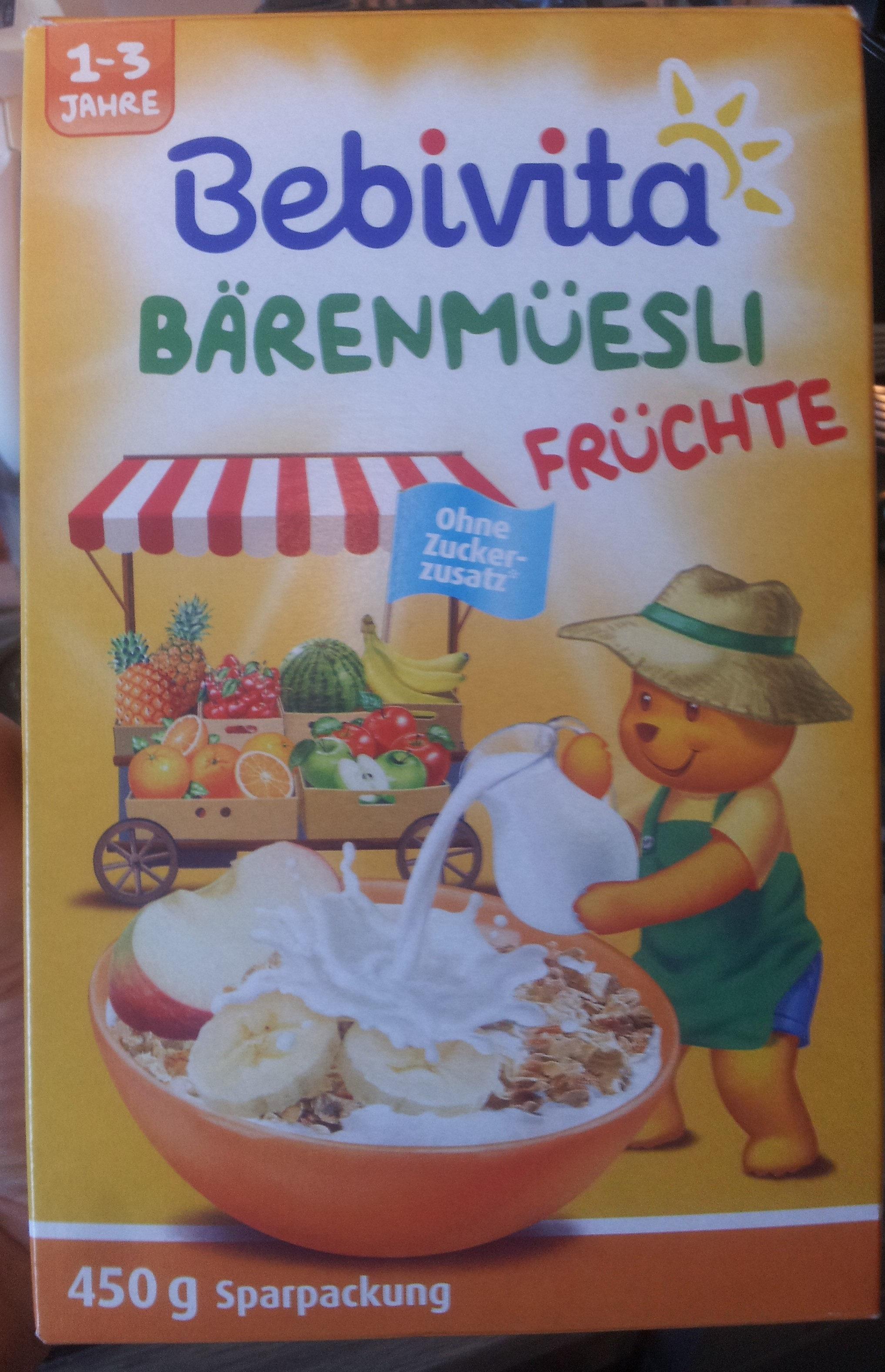 Bärenmüsli Früchte - Product - de