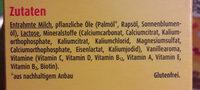 Kindermilch 2+ - Ingredients