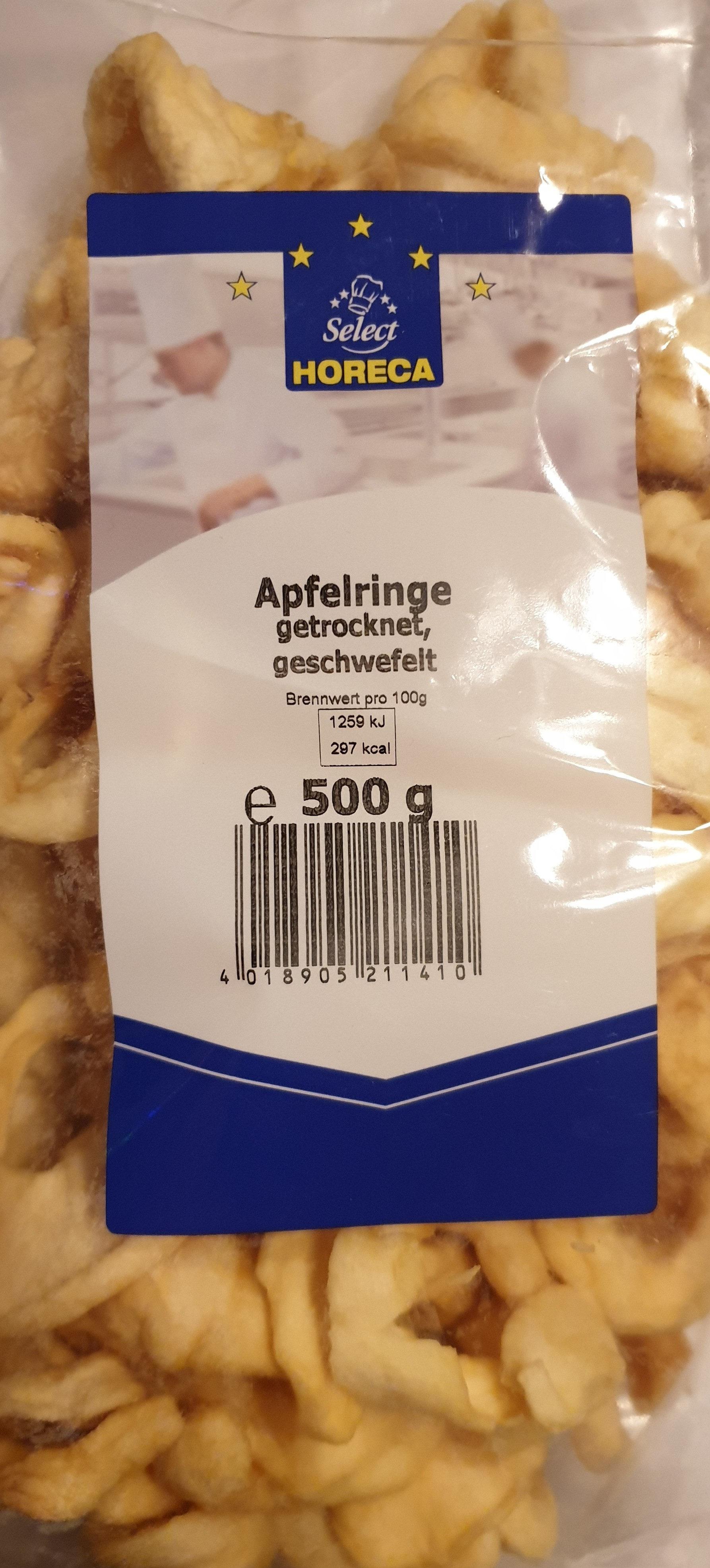 Apfelringe getrocknet, geschwefelt - Produit - de