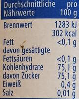 Blütenhonig flüssig - Informations nutritionnelles - de