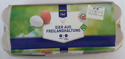 Eier aus Freilandhaltung - Product - de