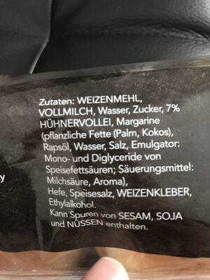 Broiche Burger Bun - Ingrediënten - de