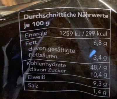 Broiche Burger Bun - Voedingswaarden - de
