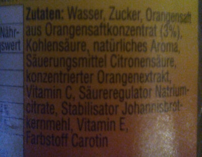 Gessner Tropic - Ingredientes