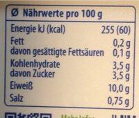 Exquisa Fitline 0,2 Fett% - Nährwertangaben - de