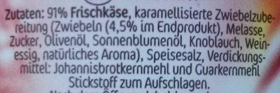 miree karamellisierte Zwiebeln - Ingrédients - de