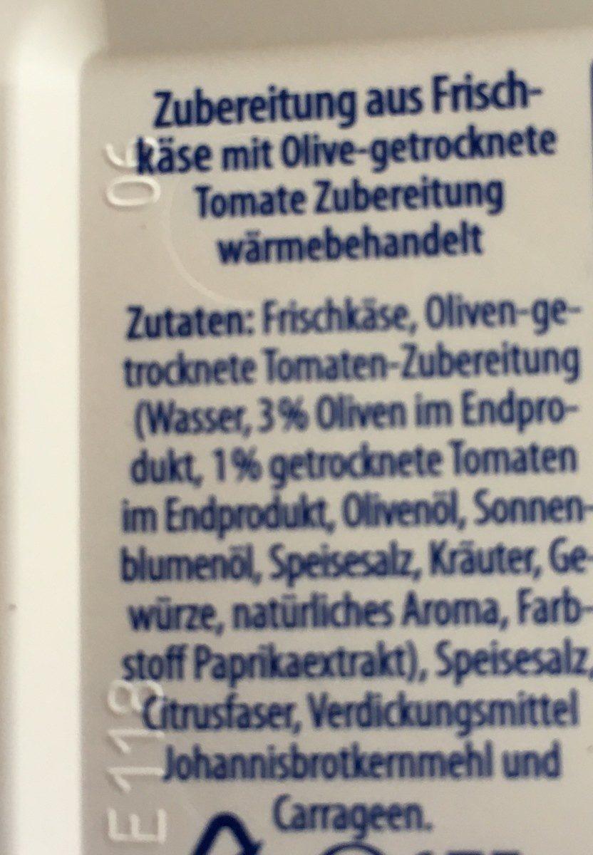 Frischkäse Olive - Ingrédients - fr
