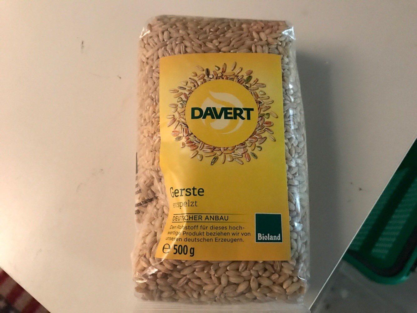 Davert Gerste - Product - de
