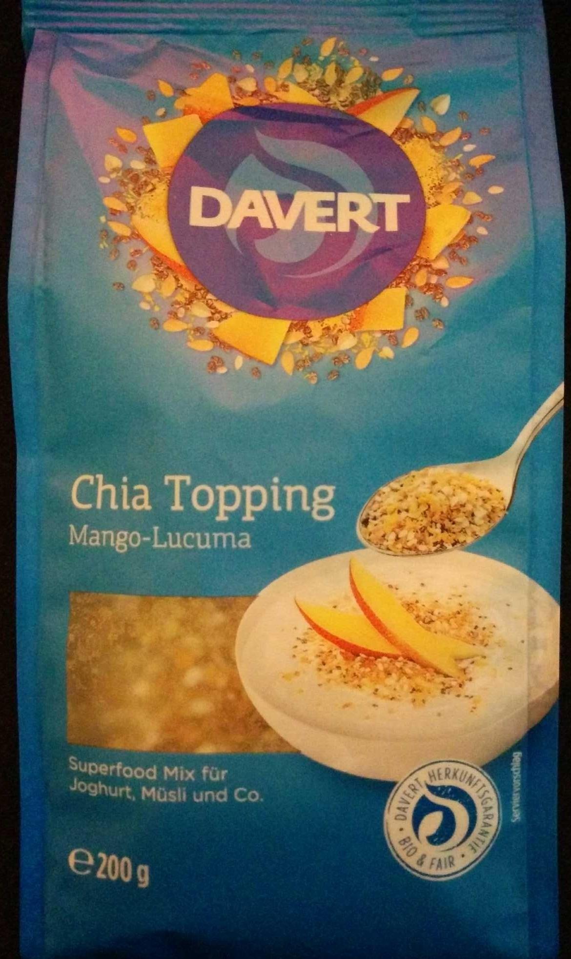Chia Topping Mango-Lucuma - Product - de