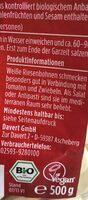 Weise riesenbohnen - Ingrediënten - fr