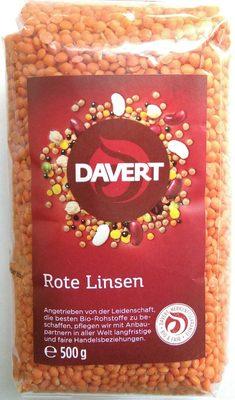 Rote Linsen - Produit
