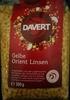 Gelbe Orient Linsen - Produkt