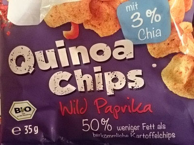 Quinoa Chips, Wild Paprika - Product
