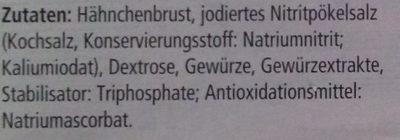 Hähnchen Grillbraten - Zutaten - de