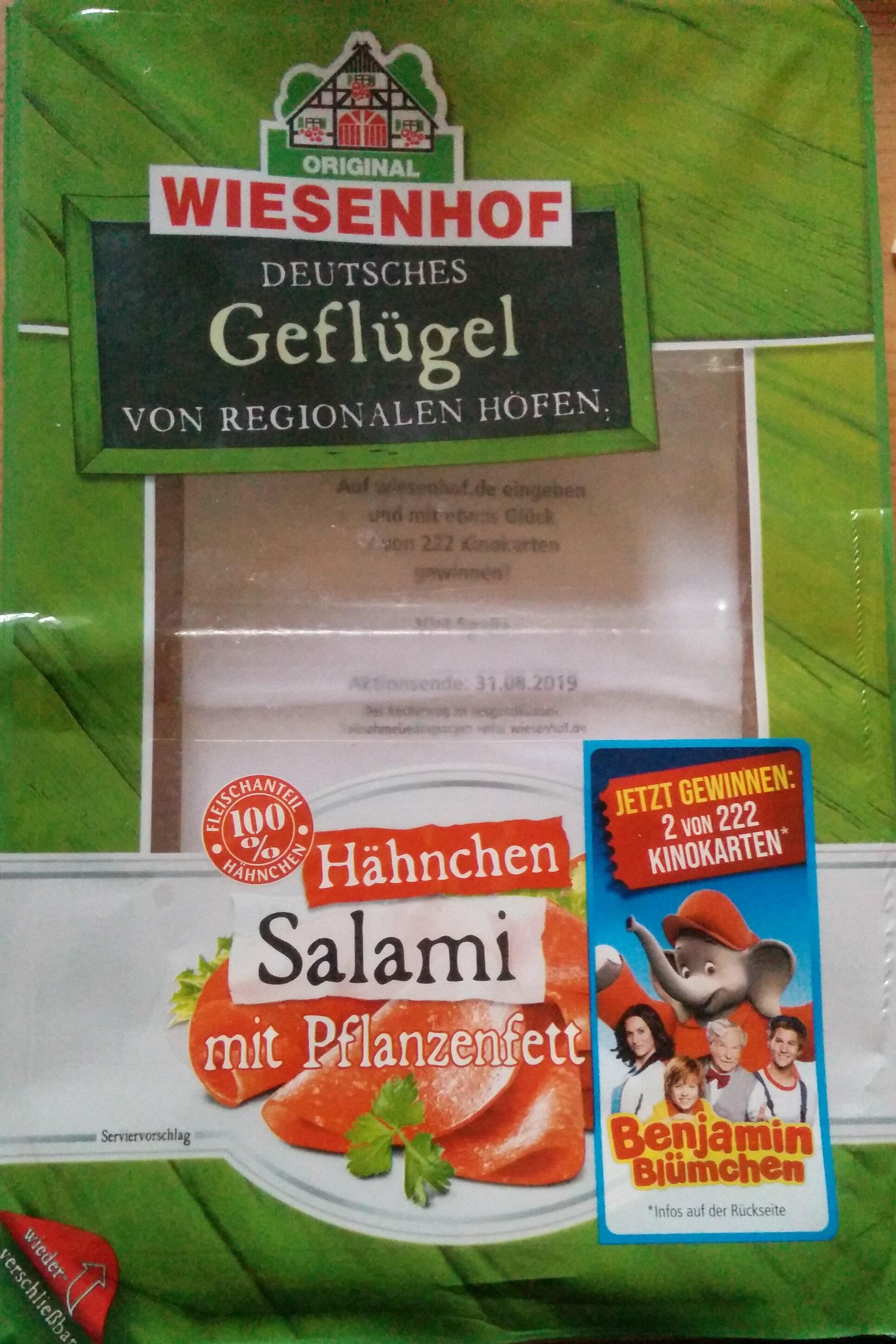 Hähnchen Salami - Produkt - de