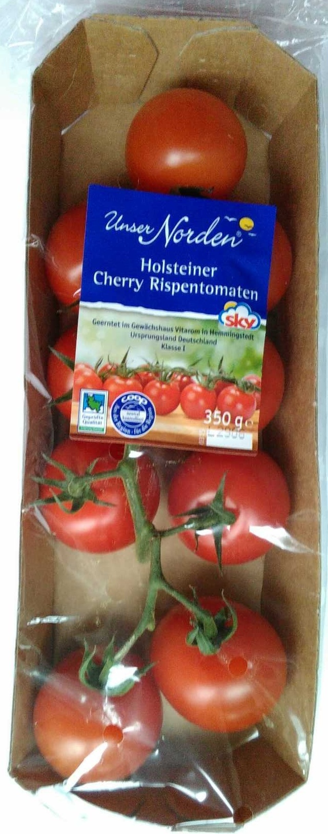 Holsteiner Cherry Rispentomaten - Product - de