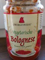 Vegetarische Bolognese - Produkt - en