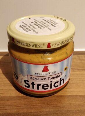 Bärlauch-Tomate Streich pâte à tartiner Bio - Product - de