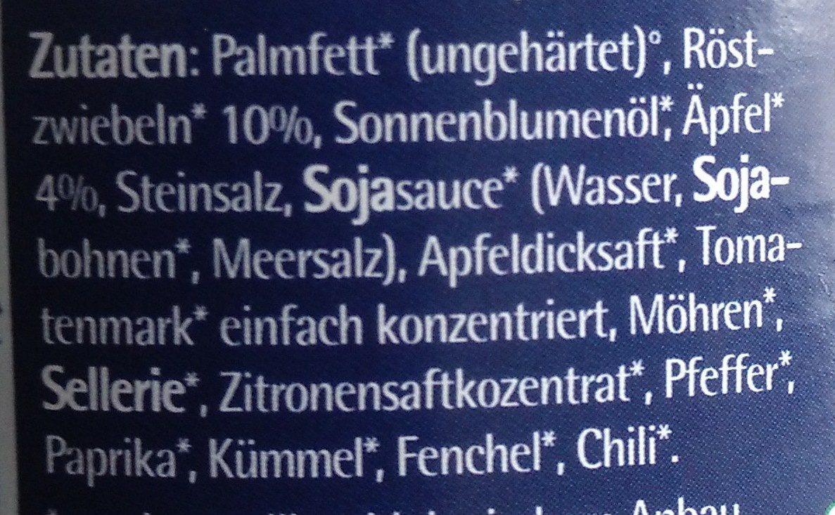 Zwiebelschmelz - Ingredients - de