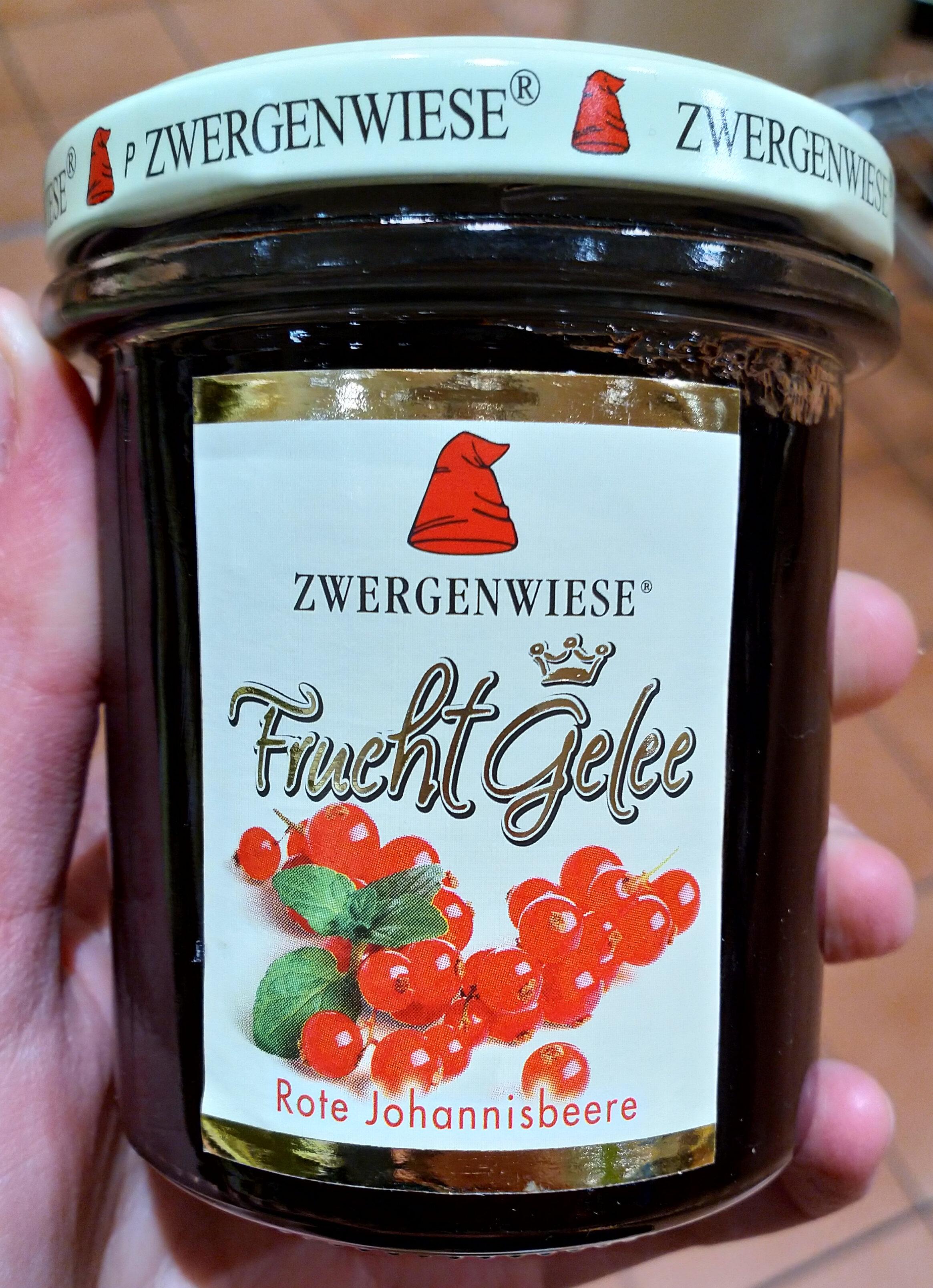 Fruchtgelee Rote Johannisbeere - Produkt - de