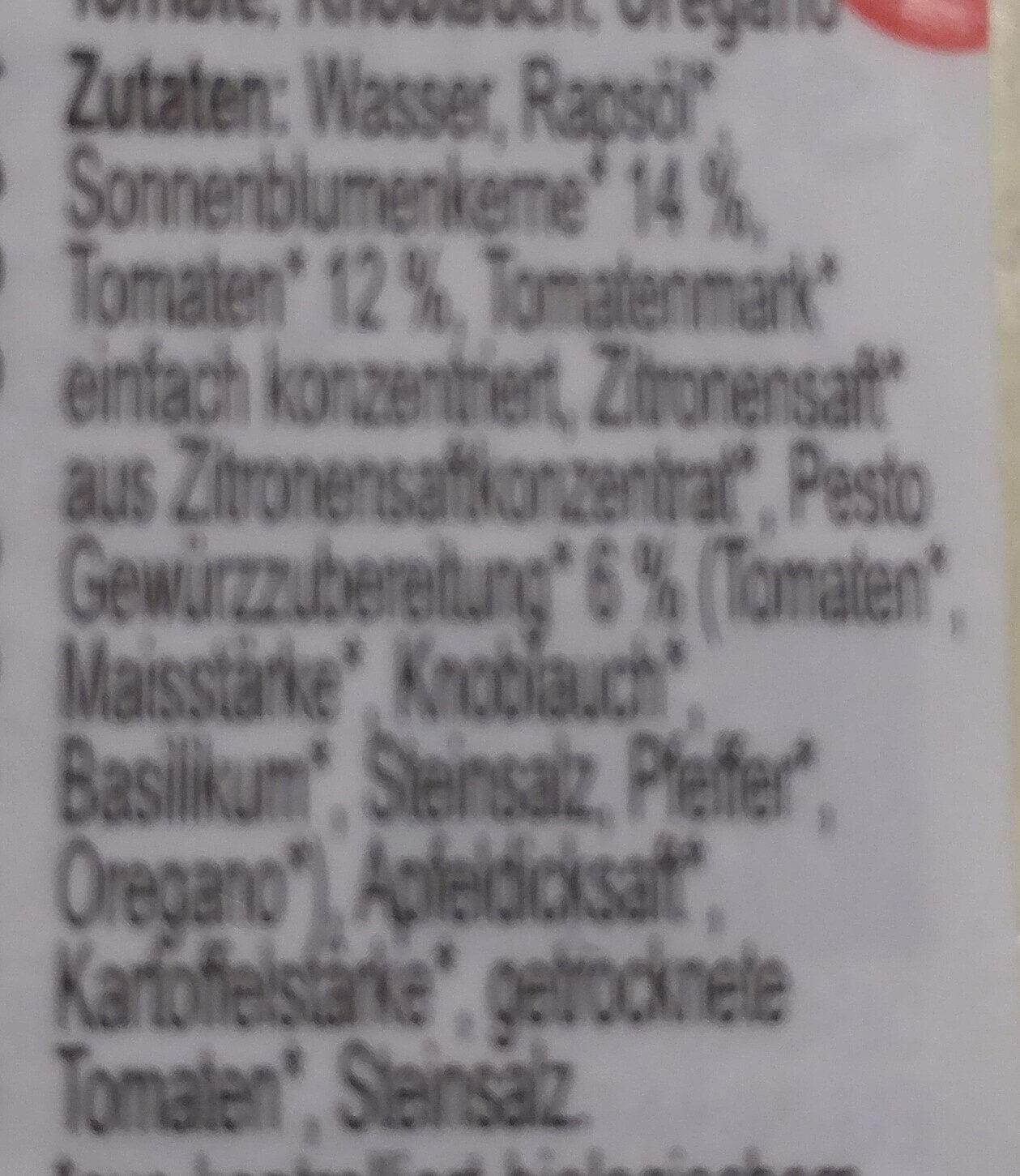 streich's drauf Bruschesto - Inhaltsstoffe - de