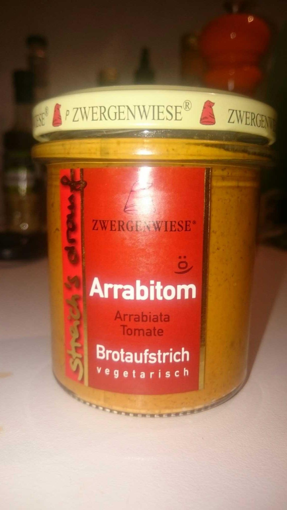 Zwergenwiese Arrabitom Brotaufstrich - Produkt