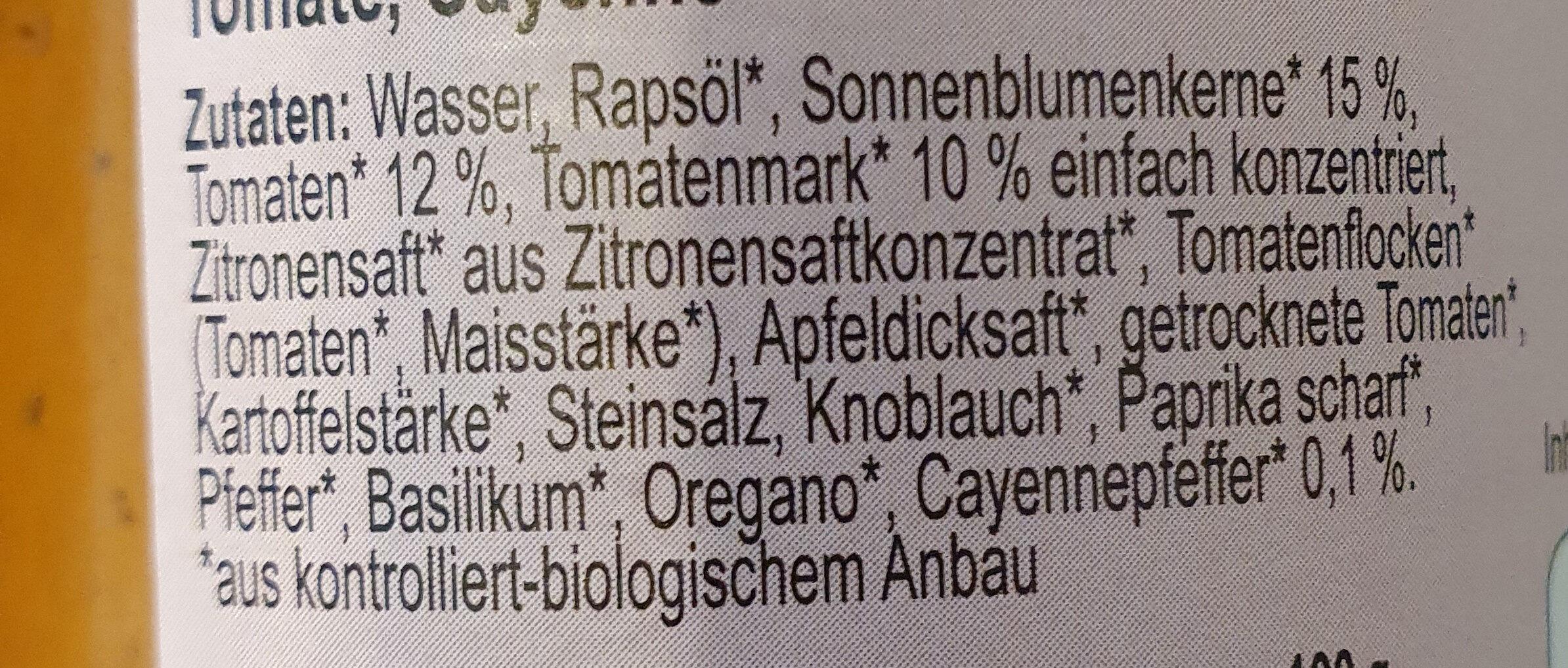 Zwergenwiese Arrabitom Brotaufstrich - Inhaltsstoffe - de