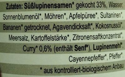 Lupi Love Curry - Ingredients