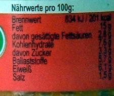 Lupi Love Tomate - Ingredients