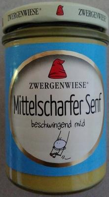 Mittelscharfer Senf - Produkt