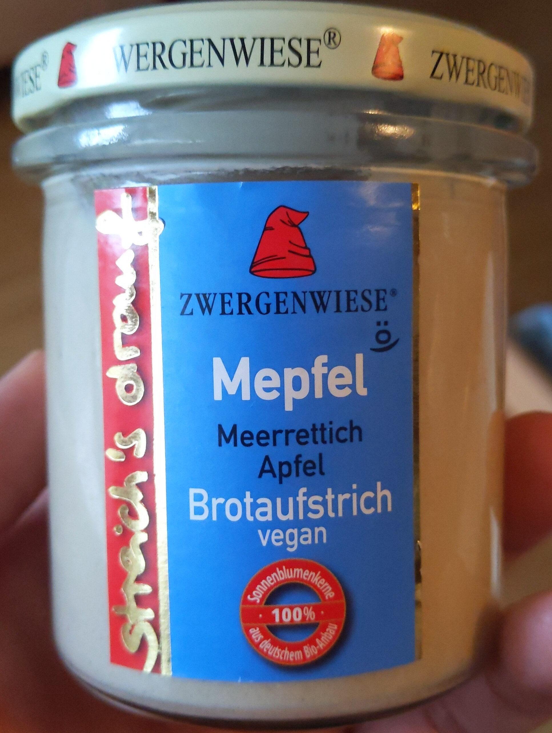 Zwergenwiese Mepfel Brotaufstrich - Product - de