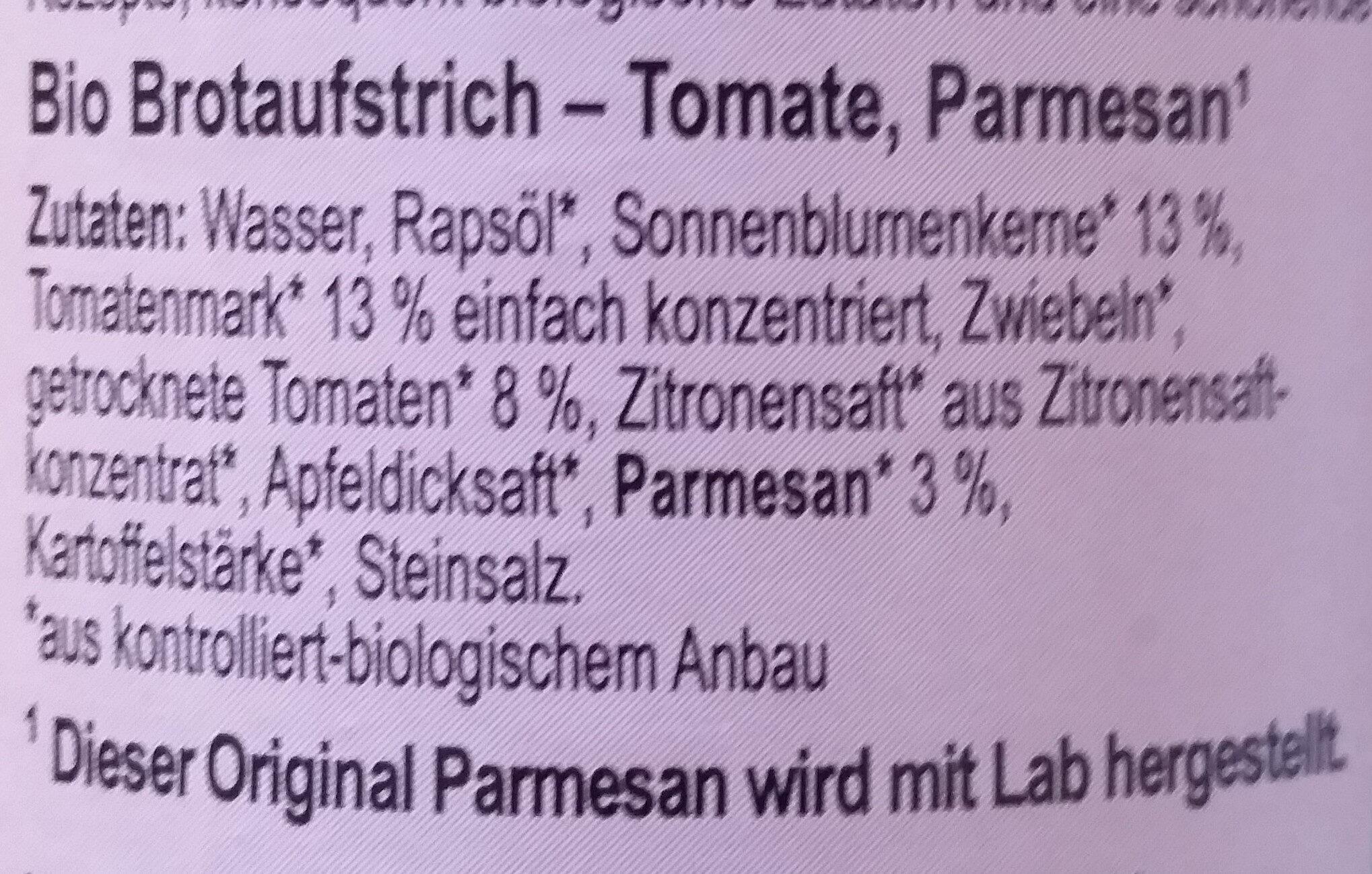 Tomesan - Ingredients