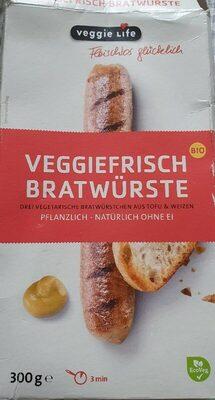 Veggiefrisch Bratwürste - Product - de