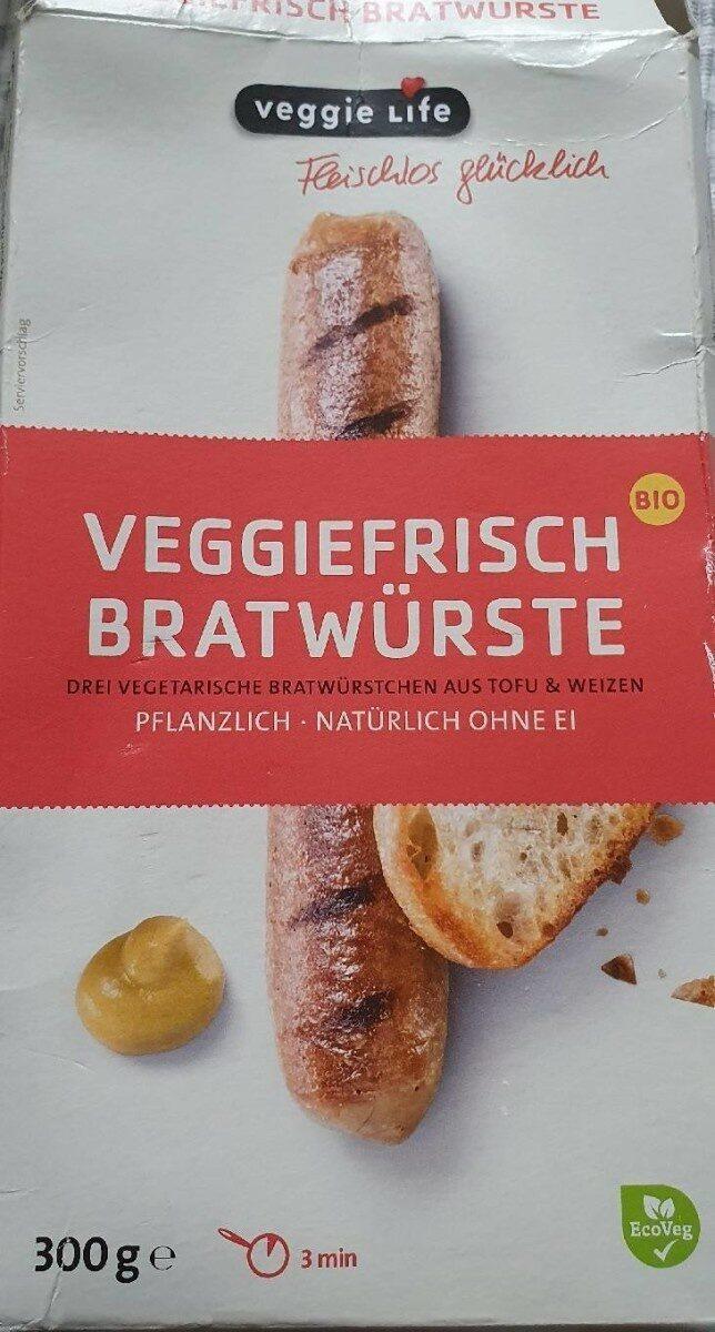 Veggiefrisch Bratwürste - Produit - de